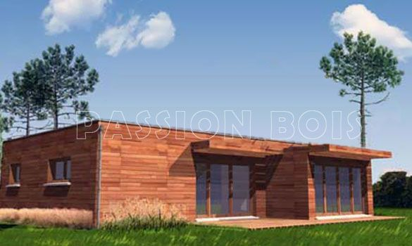 Maison En Bois Kit. Best Maison Modle De Bois Rond Harkins En D With ...